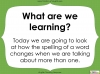 Singular Nouns to Plural Nouns  - Year 1 Teaching Resources (slide 3/67)