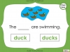 Singular Nouns to Plural Nouns  - Year 1 Teaching Resources (slide 33/67)