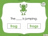 Singular Nouns to Plural Nouns  - Year 1 Teaching Resources (slide 34/67)