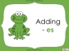 Singular Nouns to Plural Nouns  - Year 1 Teaching Resources (slide 39/67)