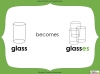 Singular Nouns to Plural Nouns  - Year 1 Teaching Resources (slide 41/67)
