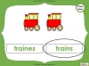 Singular Nouns to Plural Nouns  - Year 1 Teaching Resources (slide 58/67)