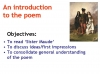 Sister Maude  (Rossetti)  Christina PPT Teaching Resources (slide 7/37)