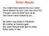 Sister Maude  (Rossetti)  Christina PPT Teaching Resources (slide 9/37)