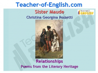 Sister Maude  (Rossetti)  Christina PPT Teaching Resources