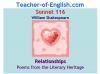 Sonnet 116 Teaching Resources (slide 1/41)