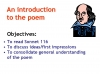 Sonnet 116 Teaching Resources (slide 11/41)