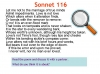 Sonnet 116 Teaching Resources (slide 12/41)