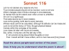 Sonnet 116 Teaching Resources (slide 15/41)