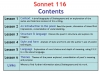 Sonnet 116 Teaching Resources (slide 2/41)