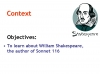 Sonnet 116 Teaching Resources (slide 4/41)