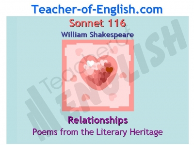 Sonnet 116 Teaching Resources