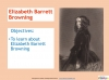 Sonnet 29 by Elizabeth Barrett Browning Teaching Resources (slide 3/28)