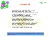 Sonnet 29 by Elizabeth Barrett Browning Teaching Resources (slide 6/28)