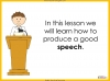 Speech Writing for GCSE Teaching Resources (slide 18/72)