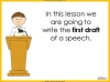 Speech Writing for GCSE Teaching Resources (slide 33/72)