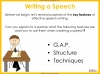 Speech Writing for GCSE Teaching Resources (slide 34/72)
