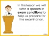 Speech Writing for GCSE Teaching Resources (slide 68/72)