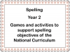 Spelling - Year 2 Teaching Resources (slide 1/49)