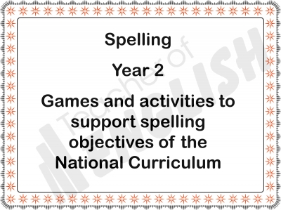 Spelling - Year 2 Teaching Resources
