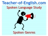 Spoken Language Study (slide 1/87)
