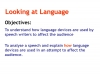 Spoken Language Study (slide 49/87)
