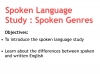 Spoken Language Study (slide 6/87)