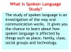 Spoken Language Study (slide 7/87)