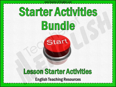 Starter Activities Bundle