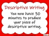 Structuring Descriptive Writing (slide 19/31)
