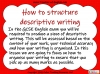 Structuring Descriptive Writing (slide 2/31)