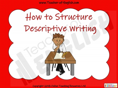 Structuring Descriptive Writing