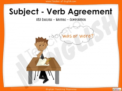 Subject - Verb Agreement - KS3