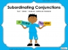 Subordinating Conjunctions  - Year 2 Teaching Resources (slide 1/42)