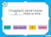 Subordinating Conjunctions  - Year 2 Teaching Resources (slide 17/42)
