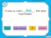 Subordinating Conjunctions  - Year 2 Teaching Resources (slide 18/42)