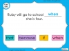 Subordinating Conjunctions  - Year 2 Teaching Resources (slide 19/42)