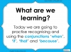 Subordinating Conjunctions  - Year 2 Teaching Resources (slide 2/42)