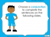 Subordinating Conjunctions  - Year 2 Teaching Resources (slide 21/42)