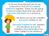 Subordinating Conjunctions  - Year 2 Teaching Resources (slide 6/42)
