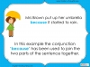 Subordinating Conjunctions  - Year 2 Teaching Resources (slide 7/42)