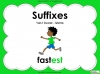 Suffixes - Year 1 Teaching Resources (slide 1/35)