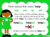 Suffixes - Year 1 Teaching Resources (slide 10/35)