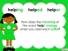 Suffixes - Year 1 Teaching Resources (slide 11/35)