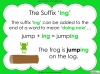 Suffixes - Year 1 Teaching Resources (slide 15/35)