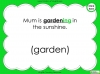 Suffixes - Year 1 Teaching Resources (slide 26/35)