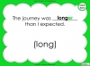 Suffixes - Year 1 Teaching Resources (slide 31/35)