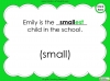 Suffixes - Year 1 Teaching Resources (slide 32/35)