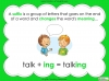 Suffixes - Year 1 Teaching Resources (slide 6/35)