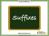 Suffixes (slide 1/10)